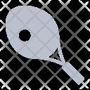 Tennis Racket Ball Icon