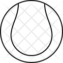 Sport Ball Tennis Field Icon