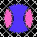 Sport Tennis Ball Icon