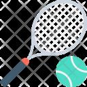 Table Tennis Racket Icon