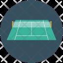 Tennis Club Course Icon