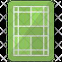 Tennis Court Game Icon