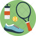 Tennis Equipment Icon
