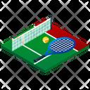Tennis Field Tennis Field Icon