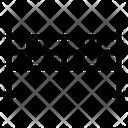 Tennis Net Tennis Field Badminton Net Icon