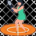 Tennis Player Tennis Sport Icon