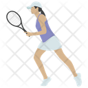 Tennis Player Icon