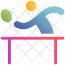 Tennis Player Table Tennis Ping Pong Icon