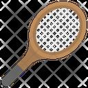 Racket Tennis Equipment Icon