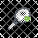Racket Tennis Sport Icon