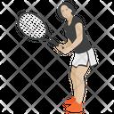 Tennis Service Tennis Tennis Player Icon