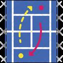 Tennis Strategy Icon