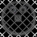 Tenpin Ball Sports Ball Game Icon