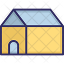Camping Camp Agricultural Building Icon
