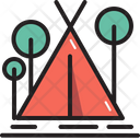 Camping Outdoor Tent Icon