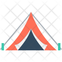 Tent House Camping Icon