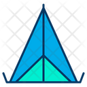 Tent Camp Tipi Icon