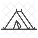 Tent Outdoor Room Icon