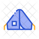 Camping Tent Alpinism Icon