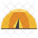 Beach Tent Camping Teepee Icon