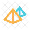 Pyramids Egypt Icon