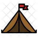 Tent Picnic Shelter Icon