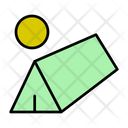 Tent Shelter Picnic Icon