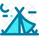 Tent Travel Forest Icon