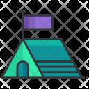 Tent Camp Icon