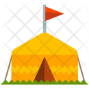 Tent Camping Outdoor Icon