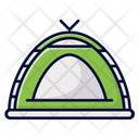 Tent Shelter Outdoors Icon