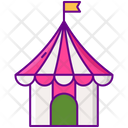 Tent House Hat Icon
