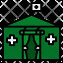 Tent Travel Rescue Icon