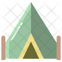 Xtent Camp Camping Icon