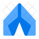 Tent Camp Travel Icon