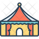 Tent Lodgement Pavilion Icon