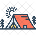 Tent Circus Marquee Icon