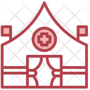 Tent Red Cross Hospital Icon