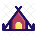 Camp Tent Rest Icon
