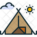 Outdoors Camping Camp Icon