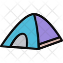 Tent Shelter Relaxation Icon