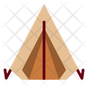 Tent Camping Outdoors Icon