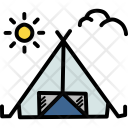 Tent Outdoors Camping Icon