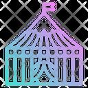 Tent Fest Party Celebration Decoration Icon