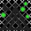 Tent Night Icon