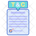 Term And Conditions Rules Agreement Icon