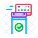 Pos Terminal Approved Icon