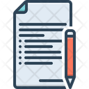 Terms Agreement Contract Icon