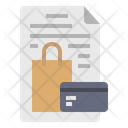 Terms And Condition Payment Info Shopping Details Icon