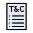 Terms Conditions Contract Icon